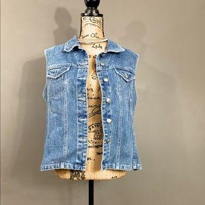 SPIEGEL Vintage 90s Jean Vest